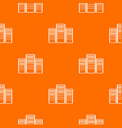 Database servers pattern seamless vector
