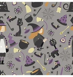 Halloween pattern 02 vector