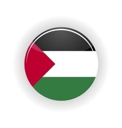 Sahara Occidental icon circle vector image