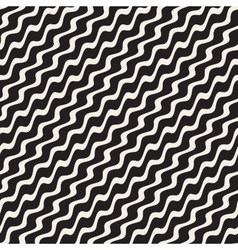 Wavy Ripple Stripes Seamless Black and vector