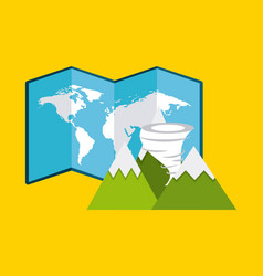 World planet earth community vector
