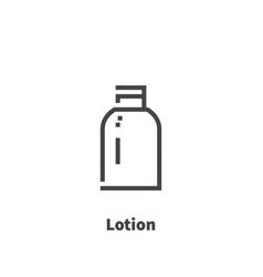 lotion icon symbol vector image vector image