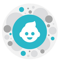of relatives symbol on kid vector image