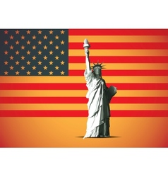 background usa vector image