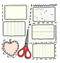 Scrapbook vector image