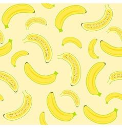 Banana seamless vector image