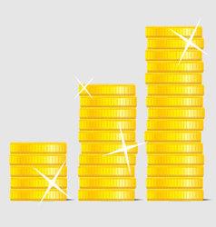Coin stock vector image