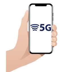 5g worlds fastest mobile internet vector