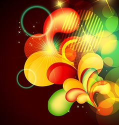 abstract artwork vector image