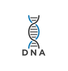 dna symbol graphic design template vector image