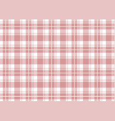 Red checkered tablecloth vector