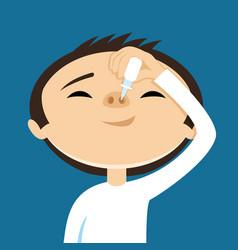 Treatment nose vector