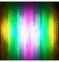 Abstract background of hexagons vector image