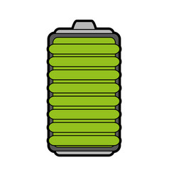 small battery icon image vector image
