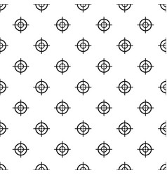 Arch target pattern seamless vector