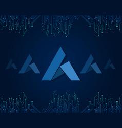 Ardor blockchain style background collection vector