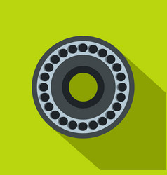 bearing icon flat style vector image vector image