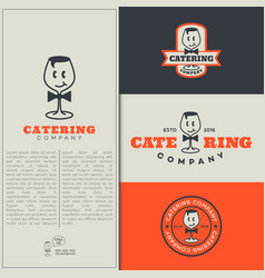 Catering logo vector