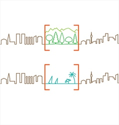 City Break vector