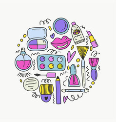 clipart set of manicur tools for your vector image