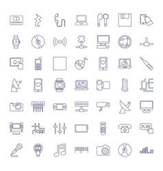 Digital icons vector