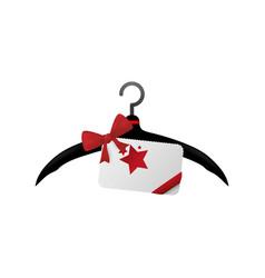 Fashion hanger symbol vector