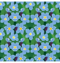 Forget me not seamless 380 vector