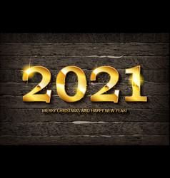 Happy new year 2021 design vector