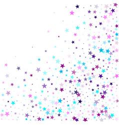 magic sparkles decorative print vector image