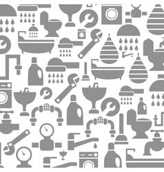 Sanitary technician background vector
