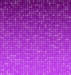 Squares purple technology pattern vector image