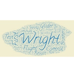 The history of the airplane text background vector