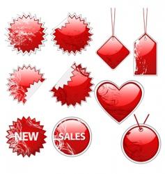 sale set vector image vector image