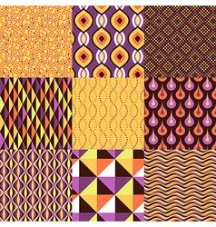 pattern geometric set vector image