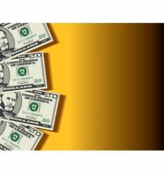50-dollars vector image