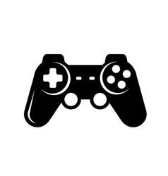 joystick icon game console symbol vector image