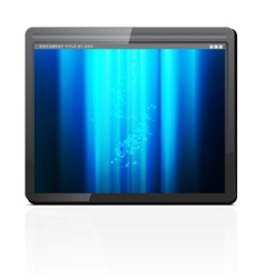 mobile tablet pc vector image