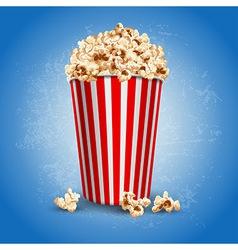Popcorn vector image vector image