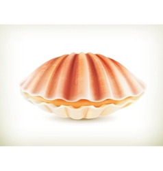 Seashell high quality vector image