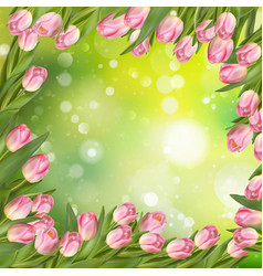 Spring easter background eps 10 vector