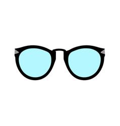 sunglasses icon flat design style vector image