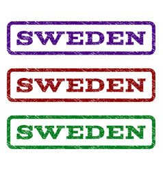 Sweden watermark stamp vector
