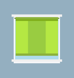 Type of house windows jalousie element isolated vector