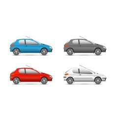 collection web icons car and set vector image