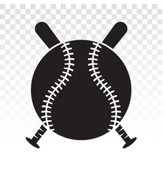 Baseball tournament flat icons for sports apps or vector
