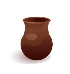 Clay jug vector