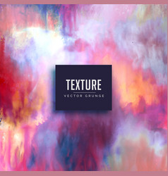 Colorful texture background made with watercolors vector