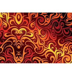 Fire abstraction vector image