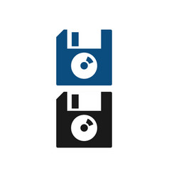 Floppy disk diskette graphic design template vector