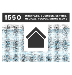 Home Icon and More Interface Business Tools vector image